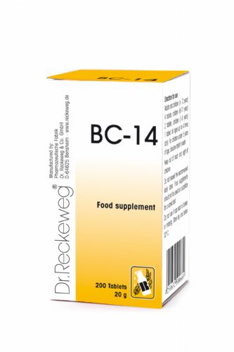 Schuessler BC14 combination cell salt - tissue salt
